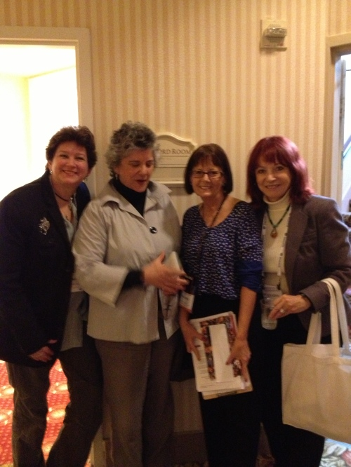 SFWriters Conference after a Session on Anthologies