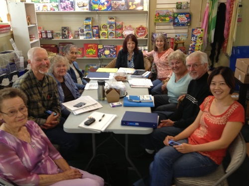 My Writing Class at Towne Center Bookstore