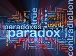 Paradox with many words