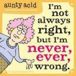 never wrong carton