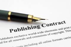 publishing contract with pen