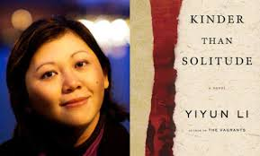 Yiyun Li with book Kinder