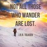 J R R Tolkien quote