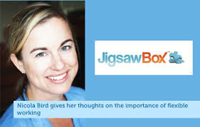 Jigsaw box  Nicola Bird