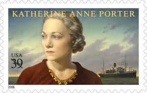 K Porter on a stamp