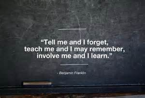 Teachers involve students
