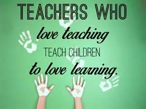 teachers love learning
