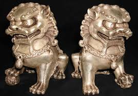 bronze foo dogs 2
