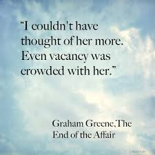 Graham Green Vacancy filled with her