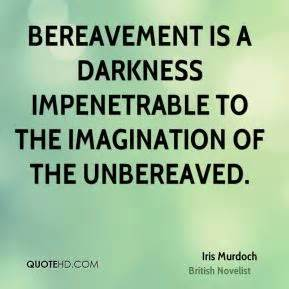 Iris Murdoch on bereavement