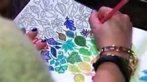 coloring books with hand coloring