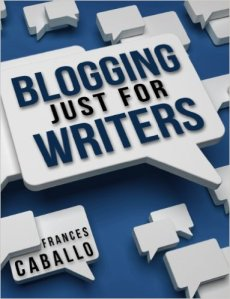 Frances' book blogging for writers
