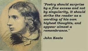 John Keats memory