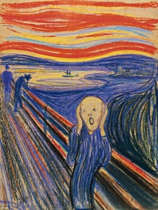 The Scream most colorful & expensive of four