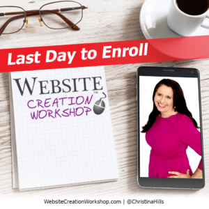 Christina Hill last day to enroll