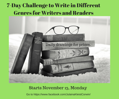 Challenge to Write in Different Genres